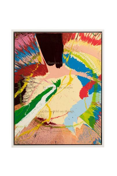 Damien HIRST (born 1965) Spin Painting, 2002...