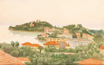 Ecole FRANCAISE du XXème siècle dans le gout de Marquet