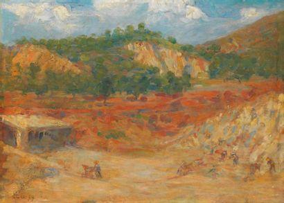 Maximilien LUCE (Paris 1858- Rolleboise 1941)