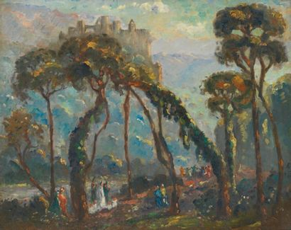 Emmanuel de LA VILLEON (Fougères 1858-Paris 1944)