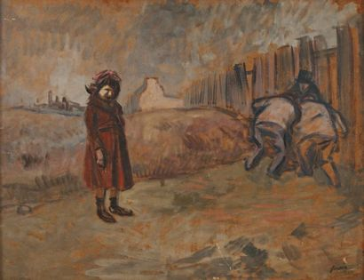 Jean Louis FORAIN (Reims 1852 - Paris 1931)