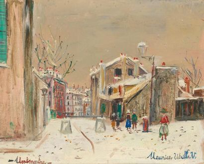Maurice UTRILLO (Paris 1883 - Dax 1955)
