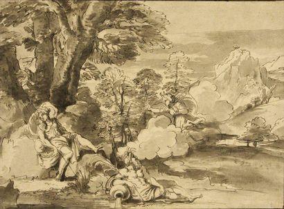 Attribué à Michel CORNEILLE dit l'Aîné ou CORNEILLE des Gobelins (Paris 1641 - 1708)