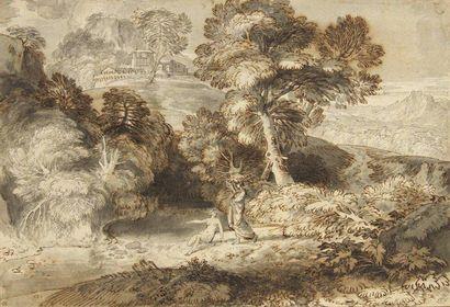 Jean François MILLET dit Francisque Millet (Anvers 1642 - Paris 1679)