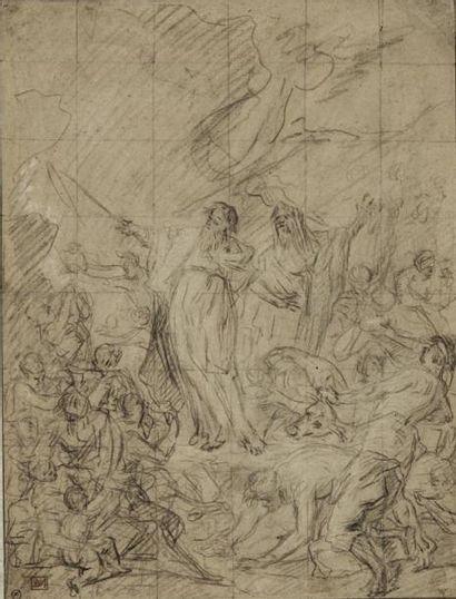 Entourage de Jean Baptiste JOUVENET (Rouen 1644 - Paris 1717)