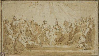 Joseph PARROCEL dit des BATAILLES (Brignolles 1646 - Paris 1704)