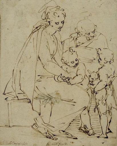 Attribué à Luca CAMBIASO (Moneglia 1527 - Madrid 1585)