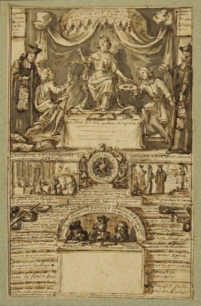 Attribué à Pierre Paul SEVIN (Tournon 1650 - 1710)