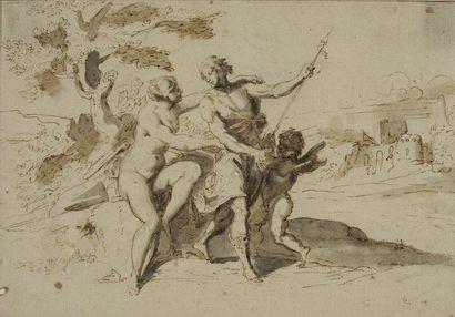 Attribué à Raymond de LA FAGE (Lisle sur Tarn 1656 - Lyon 1684)