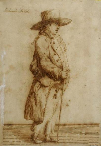 Pier Leone GHEZZI (Rome 1674 - 1755 Rome)