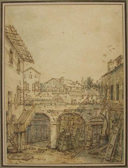 Bernardo BELLOTO (Venise 1724 - Varsovie 1780)