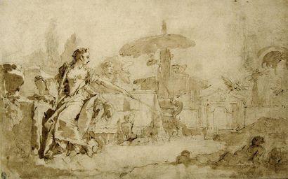 Attribué à Giustino MENESCARDI (vers 1720 - vers 1776)