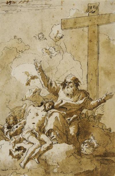 Giovanni Domenico TIEPOLO (Venise 1727 - 1804)