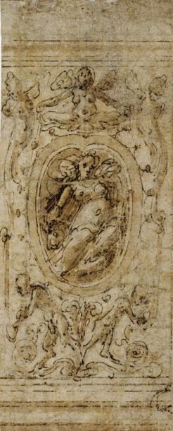 Attribué à Marco MARCHETTI dit Marco da FAENZA (Faenza 1536 - 1588)