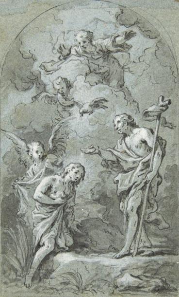 Attribué à Claude Guy Noël HALLE (Paris 1652 - 1736)