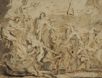 Attribué à Claude GILLOT (Langres 1673 - Paris 1722)