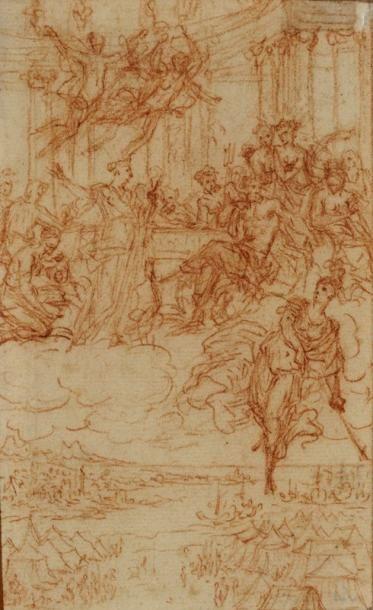 Attribué à Bernard PICART (Paris 1673 - Amsterdam 1733)