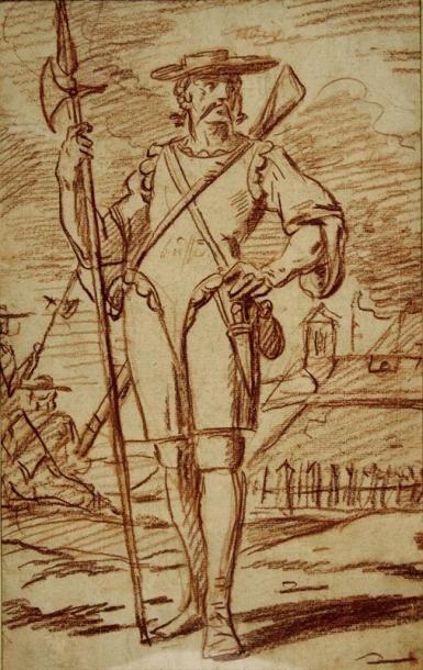 Charles PARROCEL (Paris 1688 - 1752)