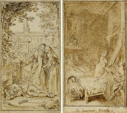 Hubert François Bourguignon GRAVELOT (Paris 1699 - 1773)