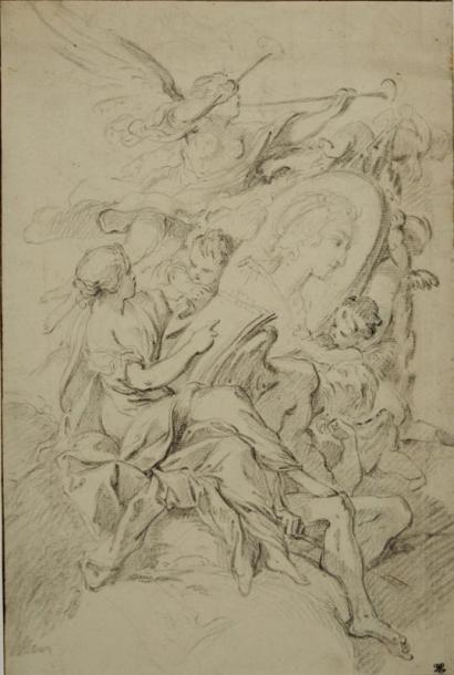 Attribué à François BOUCHER (Paris 1703 - 1770) ou son atelier