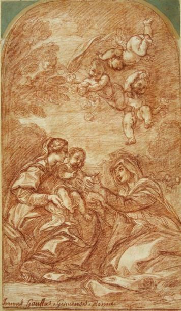 Jean-Robert ANGO ( ? - Rome 1773)