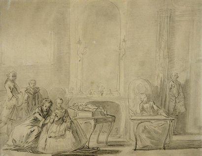 Jacques Philippe LEBAS (Paris 1707 - 1783)