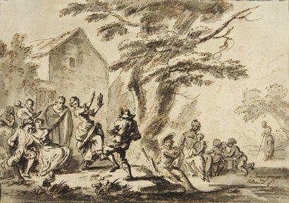 Jean-Baptiste LALLEMAND (Dijon 1716 - Paris 1803)