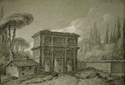 Charles-Michel-Ange CHALLES (Paris 1718 - 1778)