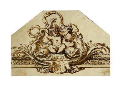 Attribué à Etienne de LAVALLEE-POUSSIN (Rouen 1733 - Paris 1793)