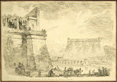 Jean Honoré FRAGONARD (Grasse 1732 - Charreton 1799)