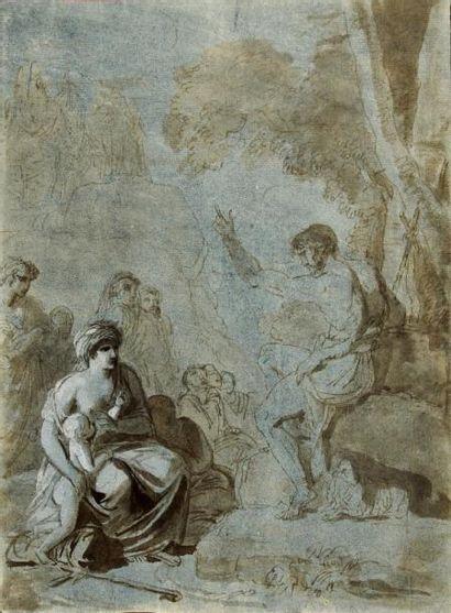 Attribué à Jean-Jacques LAGRENEE (Paris 1739 - 1821)