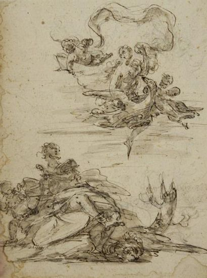 Attribué à Marco MARCOLA (Vérone 1740 - 1793)