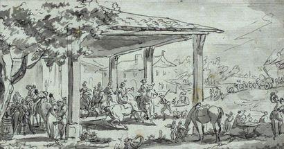 Jean DUPLESSIS-BERT AUX (Paris 1749 - 1819)