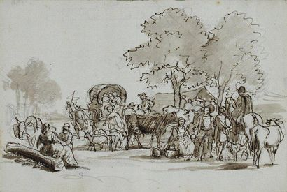 Jean Louis DEMARNE (Bruxelles 1752 - Paris 1829)