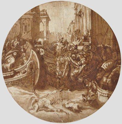 Attribué à Taddeo ZUCCARO (Urbino 1529 - Rome 1566)