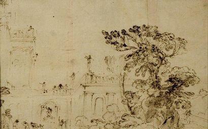 Agostino BUONAMICO dit TASSI (Pérouse 1565 - Rome 1644)