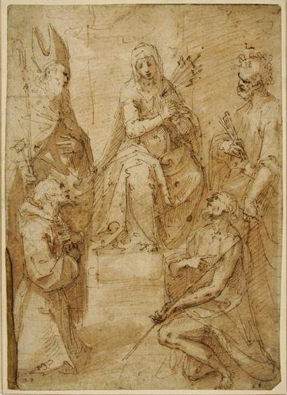 Guglielmo CACCIA dit Il MONCALVO (Moncalvo 1568 - 1625)