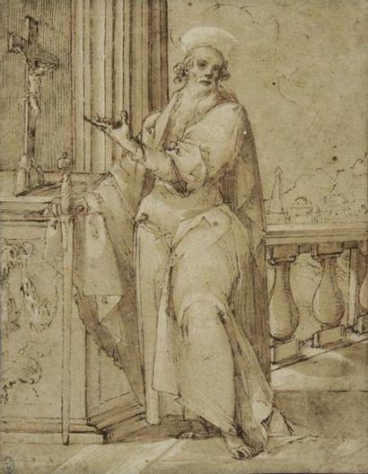 Attribué à Bernardino CESARI (Arpino 1571 - Rome 1622)