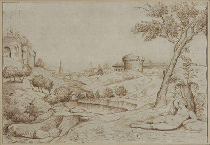 Ecole italienne du XVIIème siècle d'après TITIEN