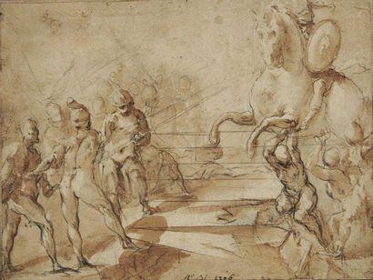 Ecole napolitaine du XVIIème siècle