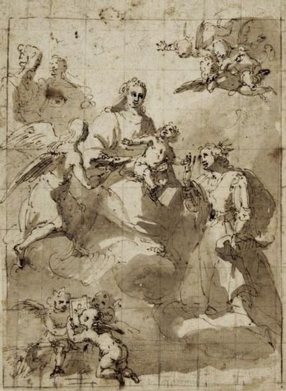 Orazio da FERRARI (Volti 1605 - Gênes 1657)