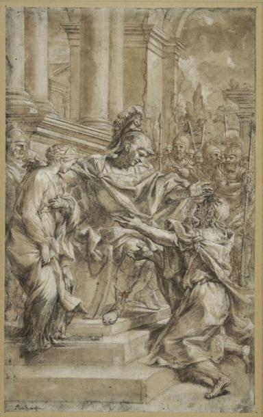 Attribué à Lazaro BALDI (1624 - 1703)