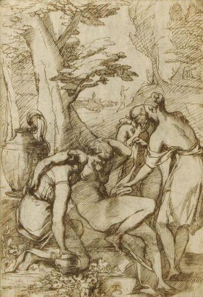 Pietro TESTA dit le LUCCHESINO (Lucques 1611 - Rome 1650)
