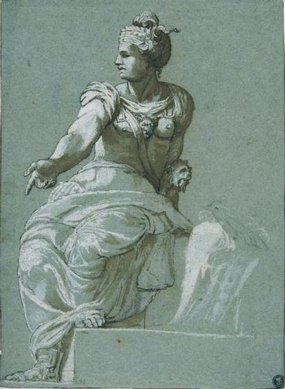 Attribué à Paolo FARINATI (Vérone 1524 - 1606)