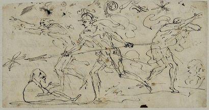 Pier Francesco MOLA (Coldrerio 1612 - Rome 1666)