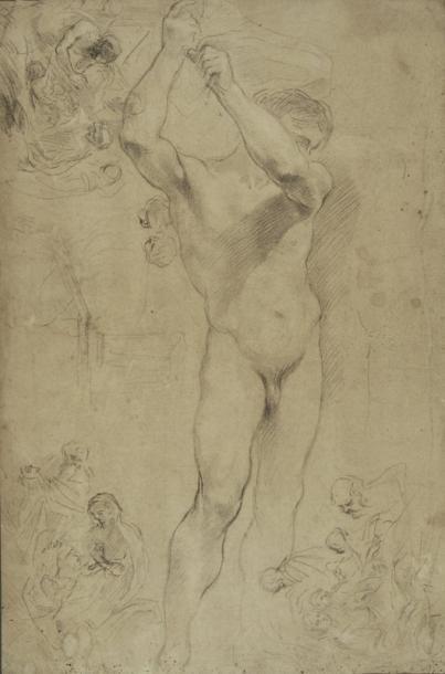 Attribué à Pier Francesco MOLA (Coldrerio 1612 - Rome 1666)