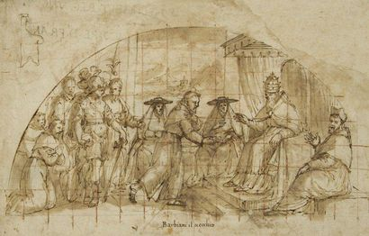 Attribué à Giovanni Battista BARBIANI (Ravenne 1619 - après 1650)