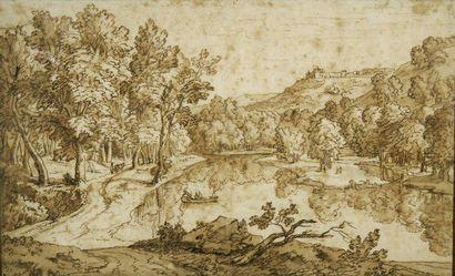 Attribué à Abraham GENOELS (1640 - 1723)