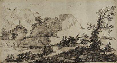 Attribué à Paolo Antonio PADERNA (Bologne 1649 - 1708)