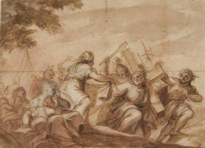 Giuseppe PASSERI (Rome 1654 - 1714)